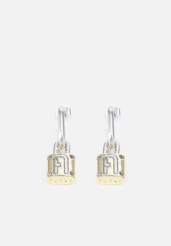 FURLA PIPER PADLOCK EARRINGS - Earrings - silver-coloured