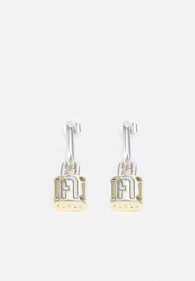 FURLA PIPER PADLOCK EARRINGS - Boucles d'oreilles - silver-coloured