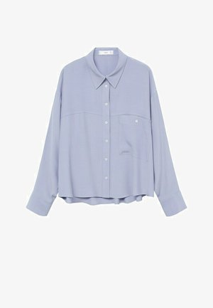 LEONE - Button-down blouse - blau