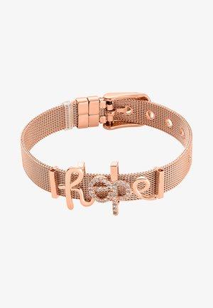 ARMBAND HOPE - Bracelet - rose goldfarbend