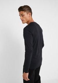 Les Deux - LENS - Long sleeved top - black/white - 2