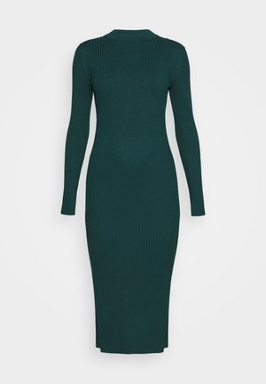 LEMLA DRESS - Abito in maglia - solid dark green