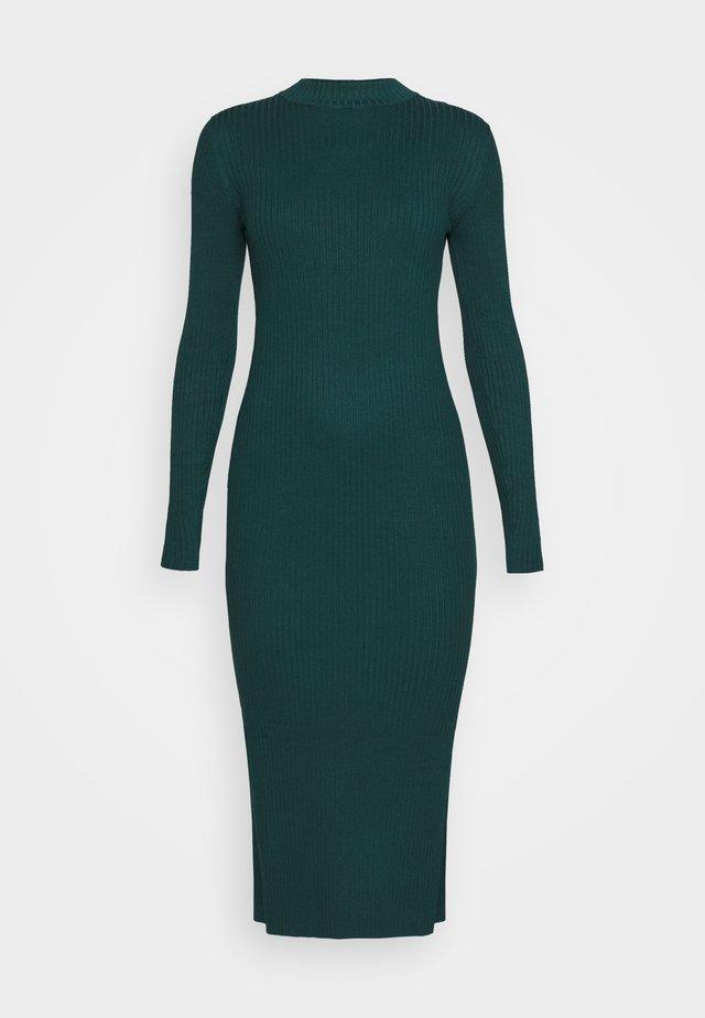 LEMLA DRESS - Jumper dress - solid dark green