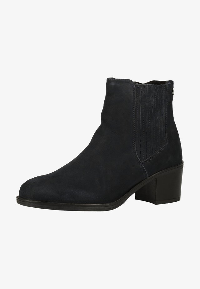 Ankle boot - ocean suede 857
