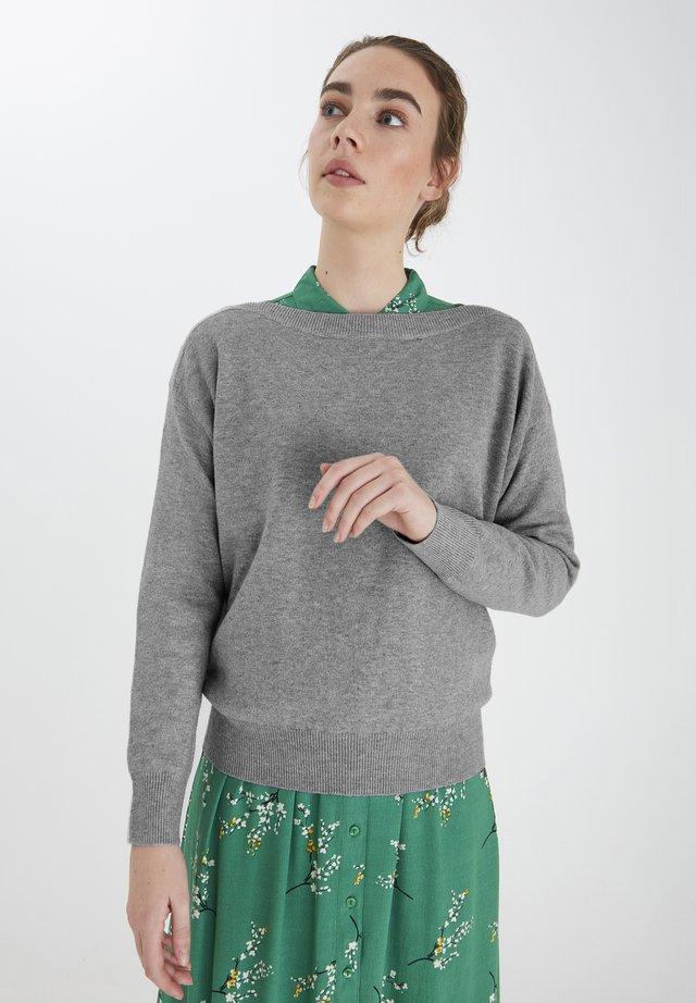 IHALPA LS2 - Sweter - grey melange