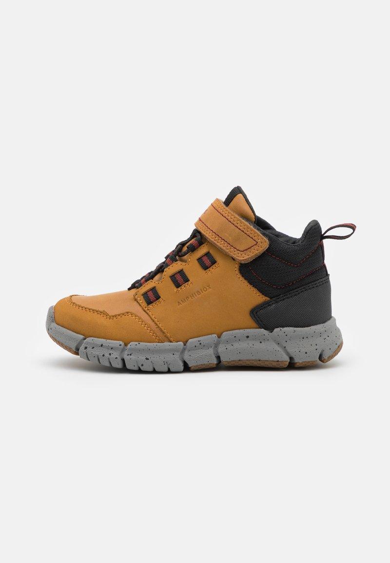 Geox - FLEXYPER BOY ABX - Classic ankle boots - dark yellow/black