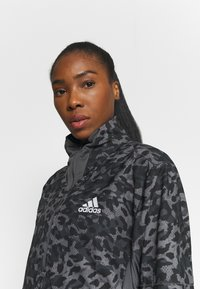 adidas Performance - FAST 1/2 ZIP - Sports jacket - grey four/black - 4