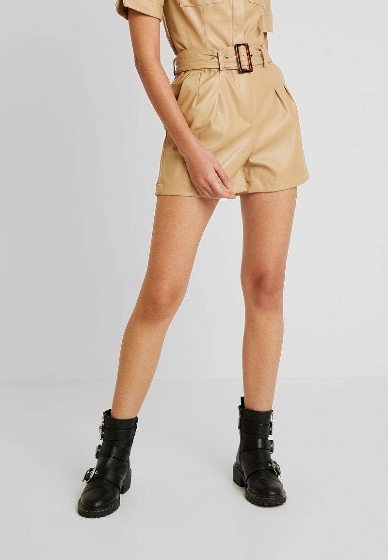 Lost Ink - Shorts - beige
