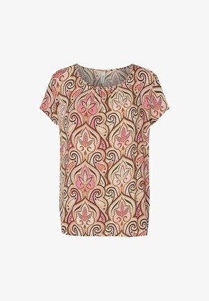 PARY - Print T-shirt - pink combi