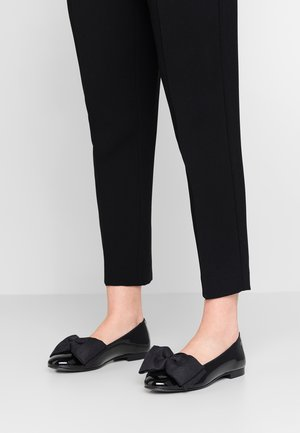 OSCAR OVERSIZE BOW - Slipper - black