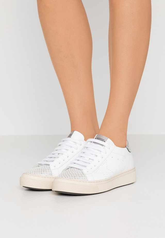 ANDREA  - Sneakers basse - bianco/argento