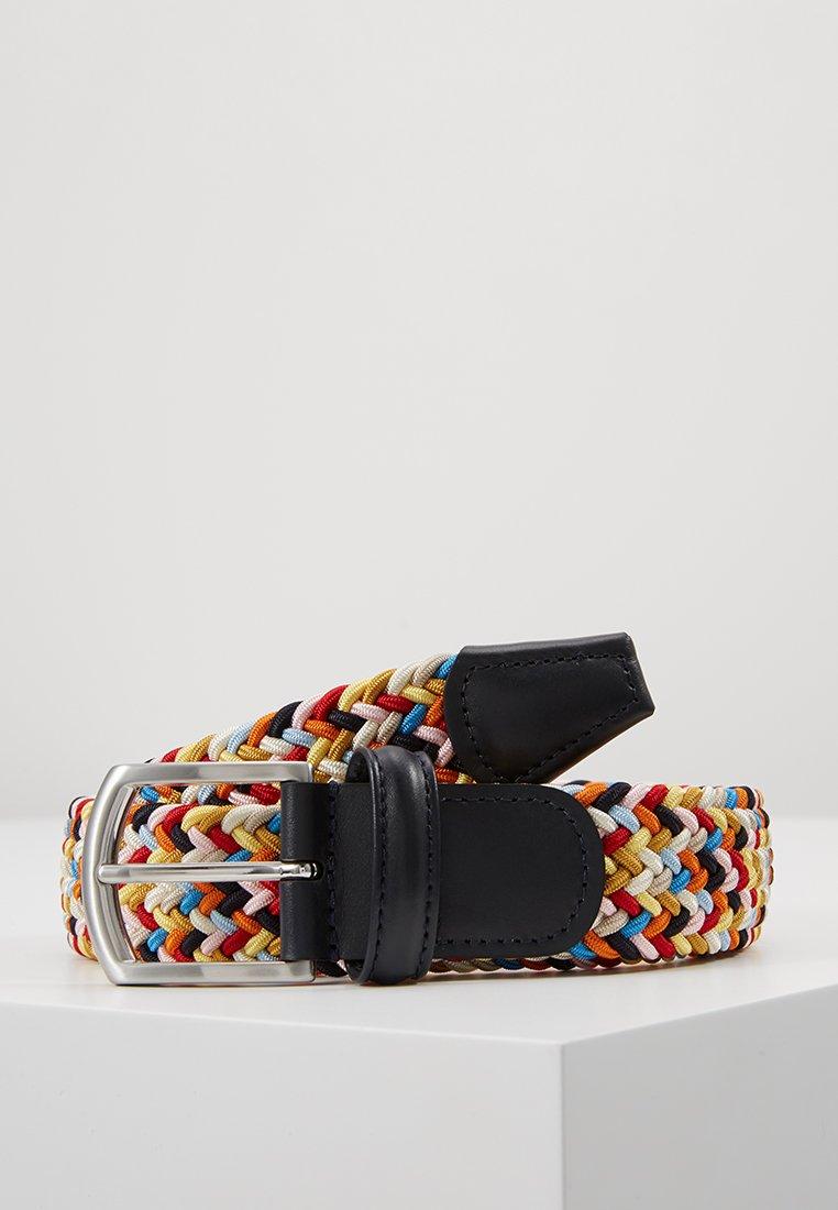 Women STRECH BELT UNISEX - Braided belt - multicolor