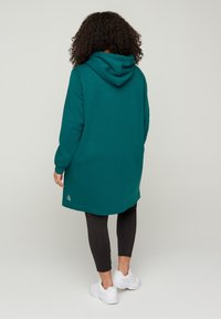 Active by Zizzi - Jersey con capucha - green - 2