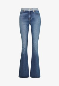 KELLY - Jeans bootcut - dark crush