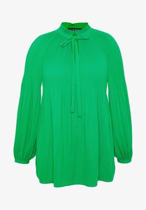 DUONG LONG SLEEVE SHIRT - Bluse - hedge green