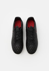 Nike Performance - TIEMPO LEGEND 8 PRO FG - Moulded stud football boots - black/dark smoke grey/chile red - 3