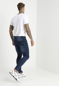 Brave Soul - SARNEN - Jeans Skinny Fit - dark blue - 2