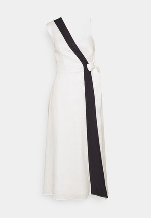 RAPHIA DRESS - Day dress - white
