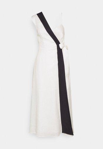 RAPHIA DRESS - Day dress - white