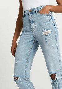 River Island - SCULPT - Slim fit jeans - blue - 3
