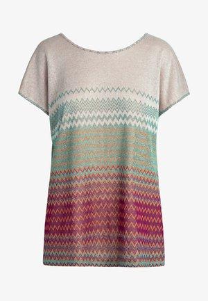 Print T-shirt - puder-multicolor