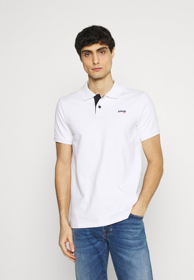 PSMILTON - Polo - white/navy