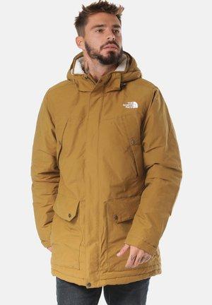 KATAVI - Winter coat - dark yellow