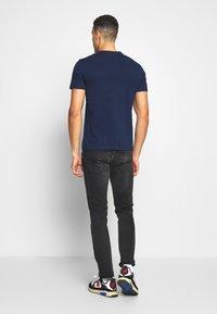 Napapijri - SARAS SOLID - Print T-shirt - medieval blue - 2