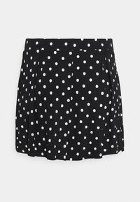 Even&Odd Curvy - 2 PACK - A-line skirt - black/white - 2