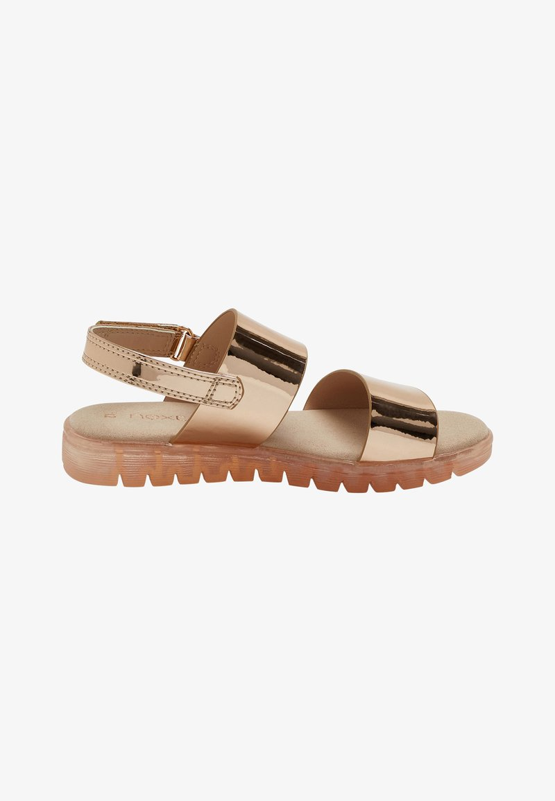 Next - Sandals - rose gold coloured