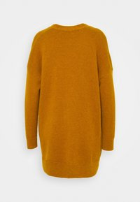 Madewell - RYAN LONGER BUTTON CARDIGAN - Cardigan - egyptian gold - 1