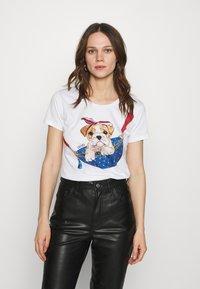 Liu Jo Jeans - Print T-shirt - white - 0