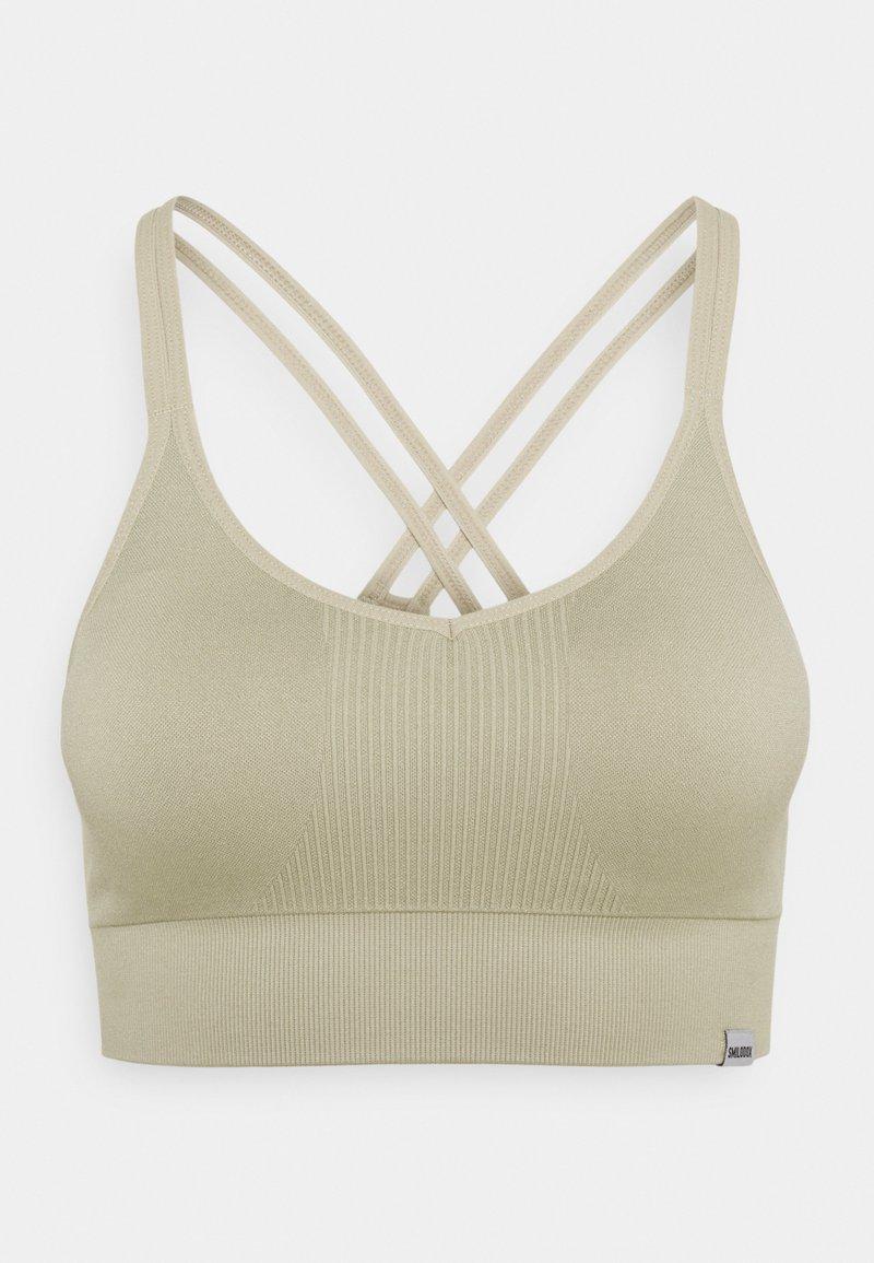 Smilodox - SEAMLESS BRA  - Light support sports bra - grau