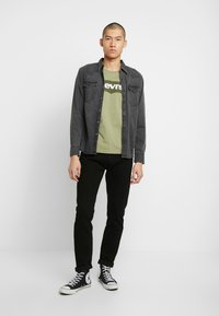 Levi's® - BARSTOW WESTERN SLIM - Shirt - black worn - 1