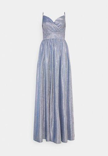 Společenské šaty - blue dust