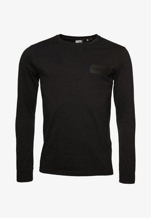 Long sleeved top - jet black