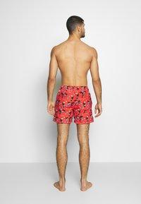 Jack & Jones - JJIARUBA JJSWIMSHORTS  - Swimming shorts - hot coral - 2