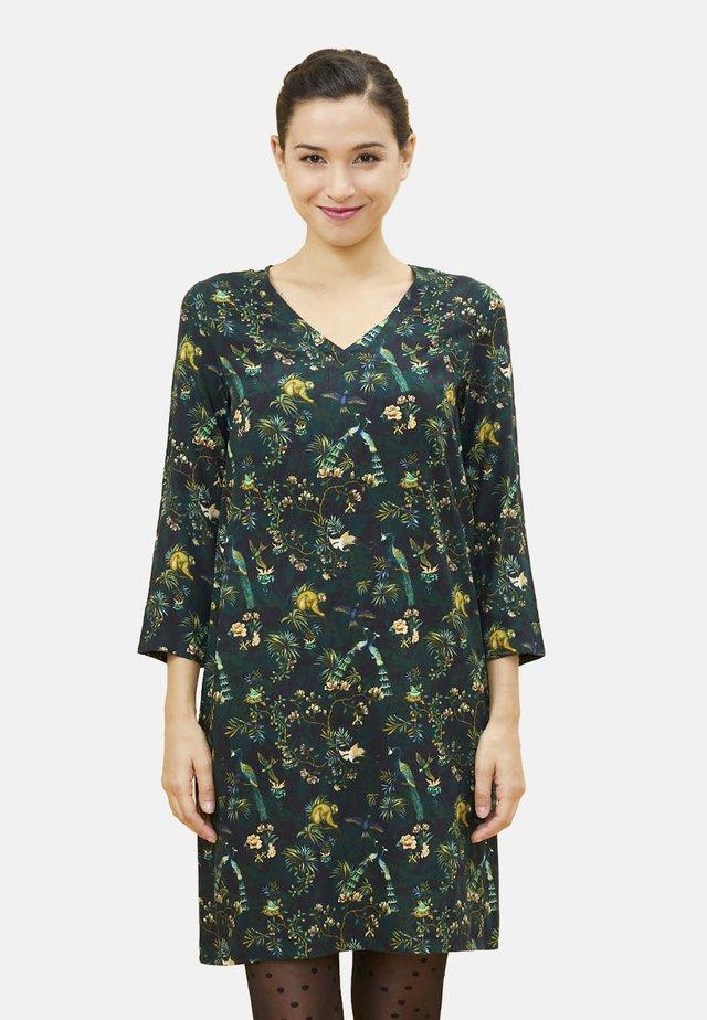 HFRH - Korte jurk - dark green