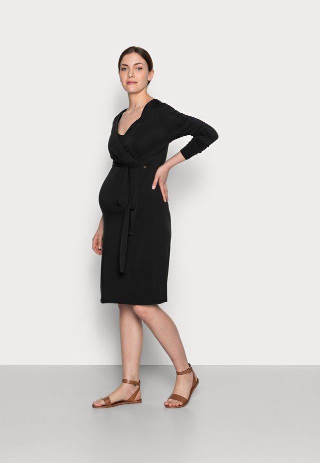 DRESS NURSING - Sukienka z dżerseju - black