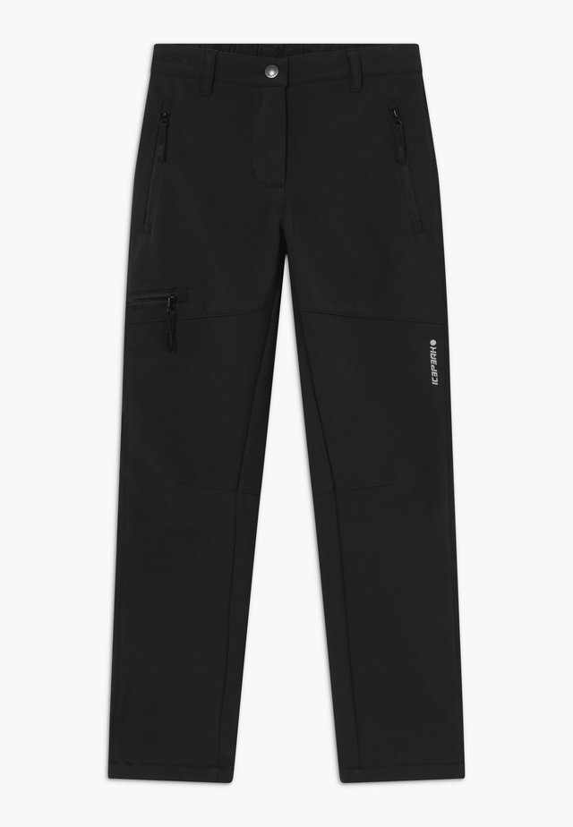 KERMAN - Pantaloni outdoor - black