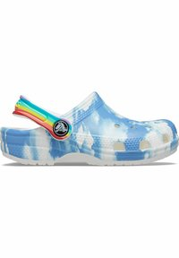 Crocs - CLASSIC OUT OF THIS WORLD - Pool slides - white - 5