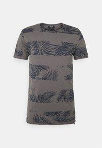 ALLEN - Print T-shirt - pewter