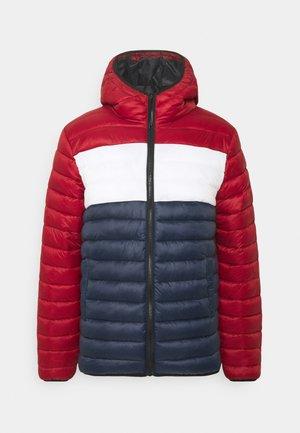 PUFFER JACKET - Light jacket - dark red
