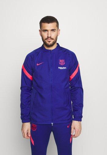 FC BARCELONA MNK DRY SET - Klubové oblečení - deep royal blue/lt fusion red