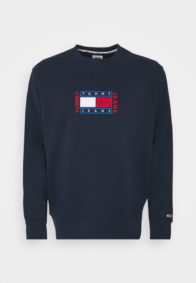 PLUS TIMELESS CREW - Sweatshirt - twilight navy