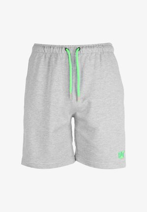 CAT LOGO SWEAT SHORT HERREN - Shorts - gray melange