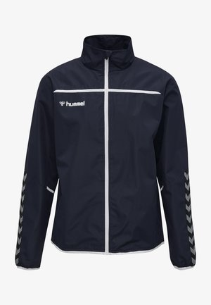 HMLAUTHENTIC  - Training jacket - navy