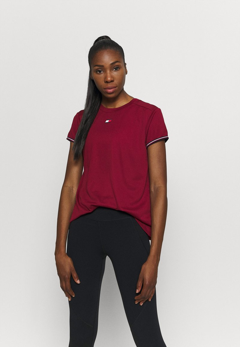 Tommy Hilfiger - FASHION PERFORMANCE TOP - Sports shirt - rouge
