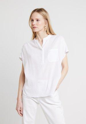 ZAGGAI - Button-down blouse - milk