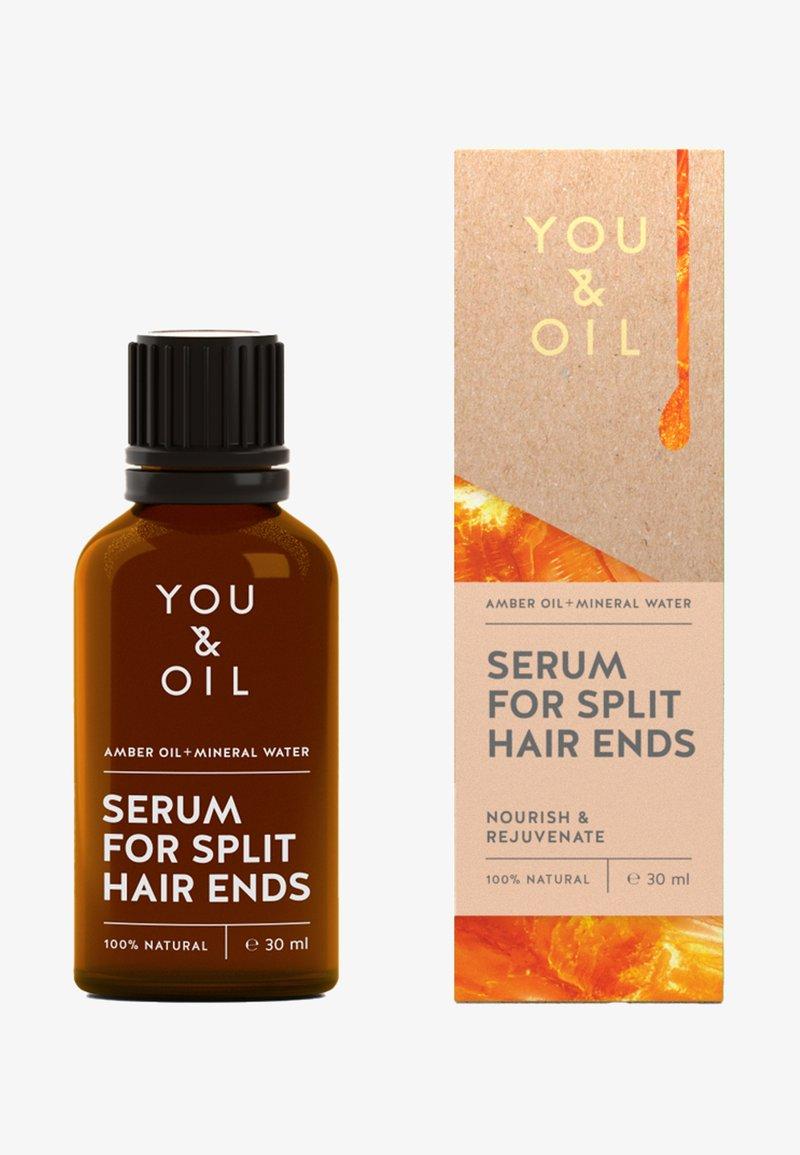 YOU & OIL - REGENERATING SERUM FOR SPLIT HAIR ENDS - Hair treatment - -